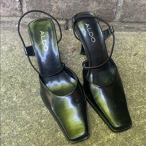 Aldo size 35 (5) sling back Heels